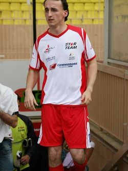 Charity football match: Robert Kubica