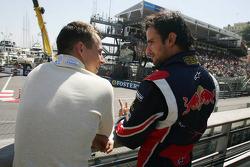 Christian Klien talks with Vitantonio Liuzzi