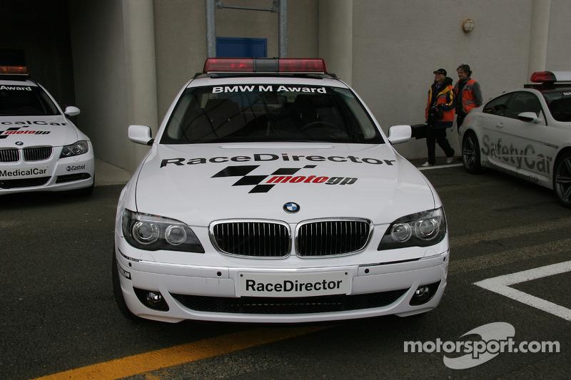 BMW M7 directeur de course