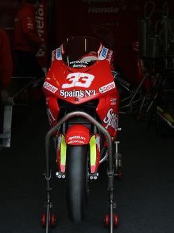 Honda Gresini pitbox