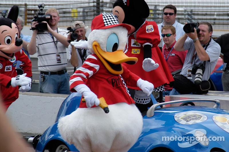 Donald Duck est dans l'équipe