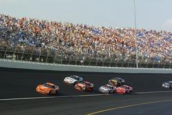 Tony Stewart, Ryan Newman, Casey Mears, Mark Martin, Dale Earnhardt Jr., Martin Truex Jr.
