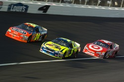 Jeff Gordon, Kyle Busch and Reed Sorenson