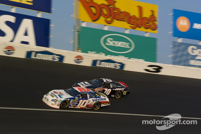 Scott Riggs et Johnny Sauter