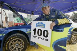 Petter Solberg fête son 100e départ