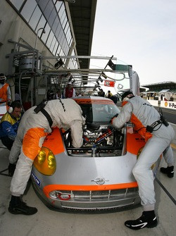 Spyker Squadron team members at work