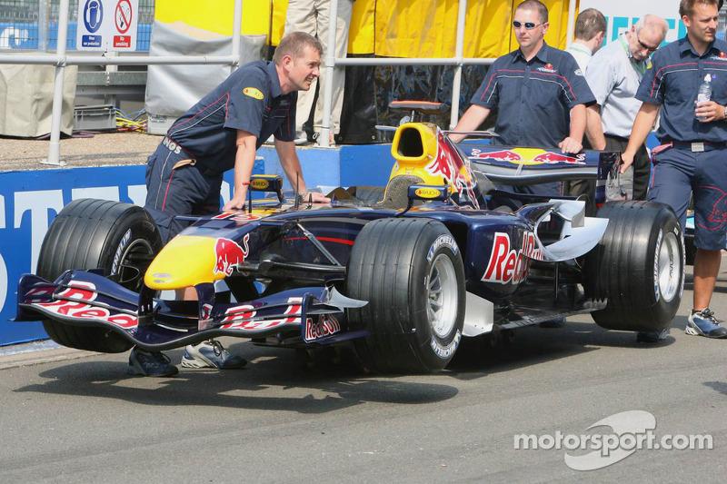 L'équipe Red Bull Racing