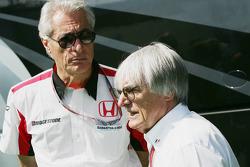 Danele Audetto and Bernie Ecclestone
