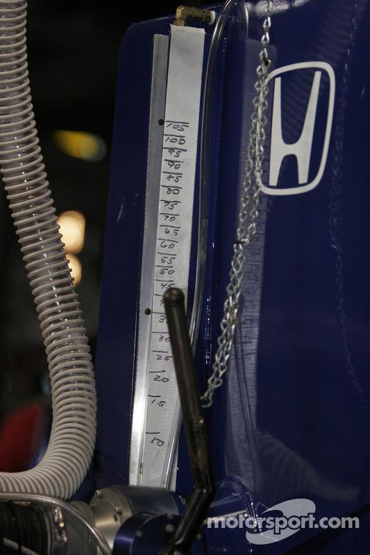 Détail de l'appareil de forage d'essence