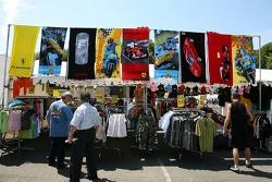 Merchandising area
