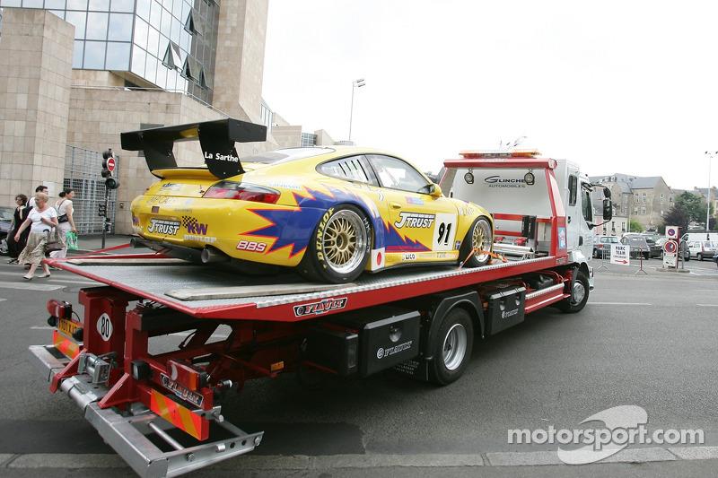 T2M Motorsport Porsche GT3 RSR de retour sur la piste