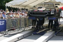 Convers Menx Team Ferrari 550 Maranello in scrutineering