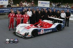 John Nielsen, Casper Elgaard, Philip Andersen, and the Zytek Engineering Team pose with the Zytek Engineering Zytek 06S
