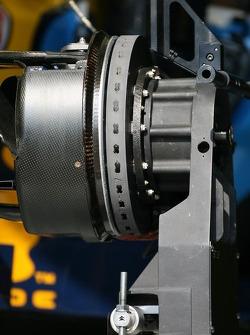 Detail of a Renault brake