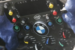 BMW-Sauber F1 Team steering wheel
