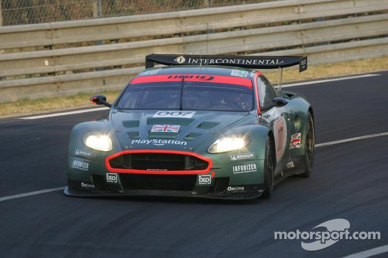 #007 Aston Martin Racing Aston Martin DBR9: Tomas Enge, Andrea Piccini, Darren Turner