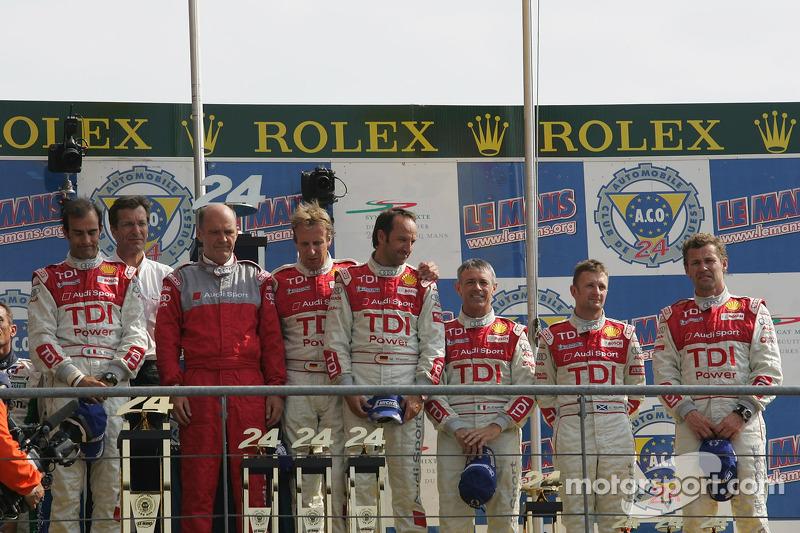 Podium LMP1 : Audi Sport Team Joest