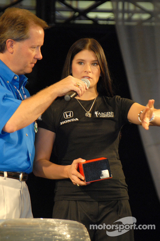 Mike King et Danica Patrick