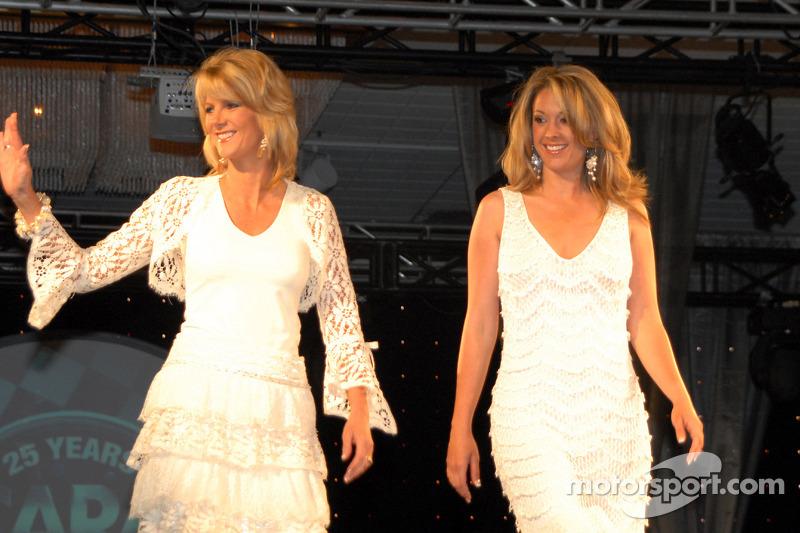 Wish Tvs Karen Hensel And Nicole Manske At On November 17th 2011
