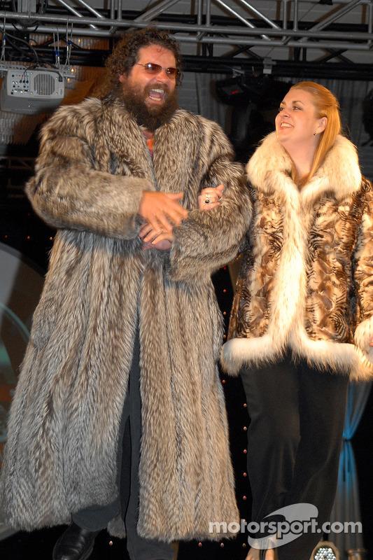 Rupert et Laura Boneham