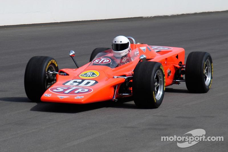 Voitures d'époque : 1968 Lotus Turbine.  Joe Leonard a presque gagné avec