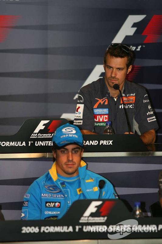 Conférence de presse de la FIA : Fernando Alonso et Tiago Monteiro