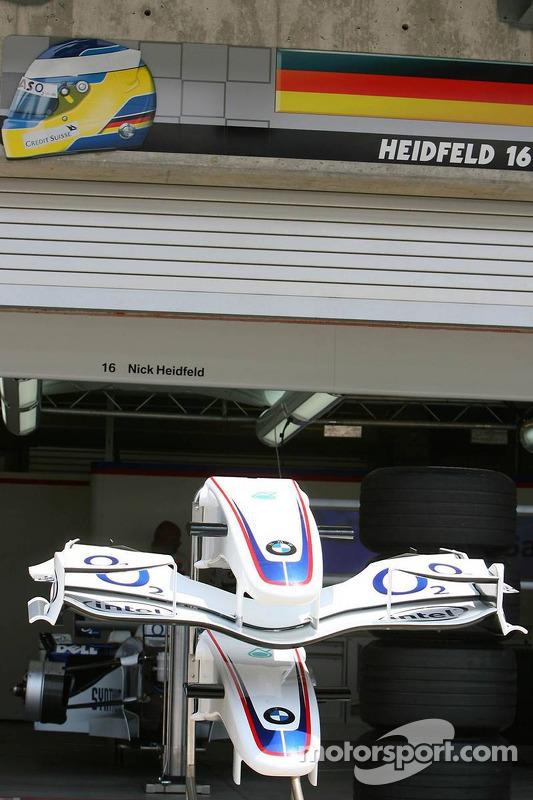Le garage de Nick Heidfeld