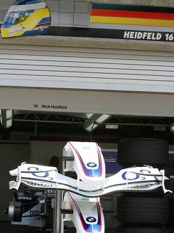 Garage of Nick Heidfeld