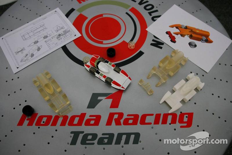 La voiture gagnante Honda