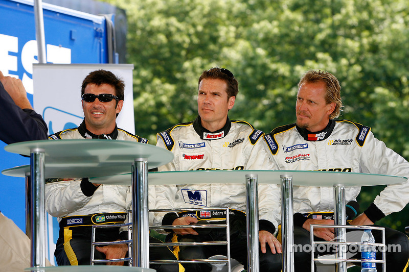 Christian Fittipaldi, Johnny Mowlem et Terry Borcheller
