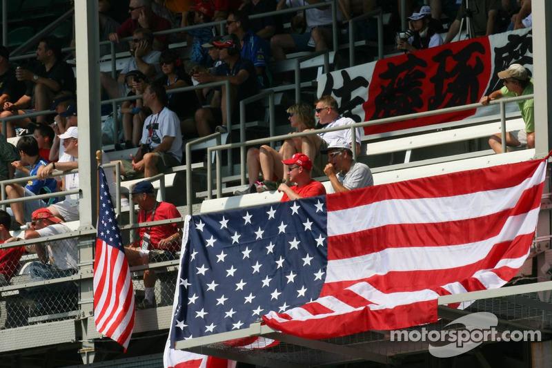 Des fans américains