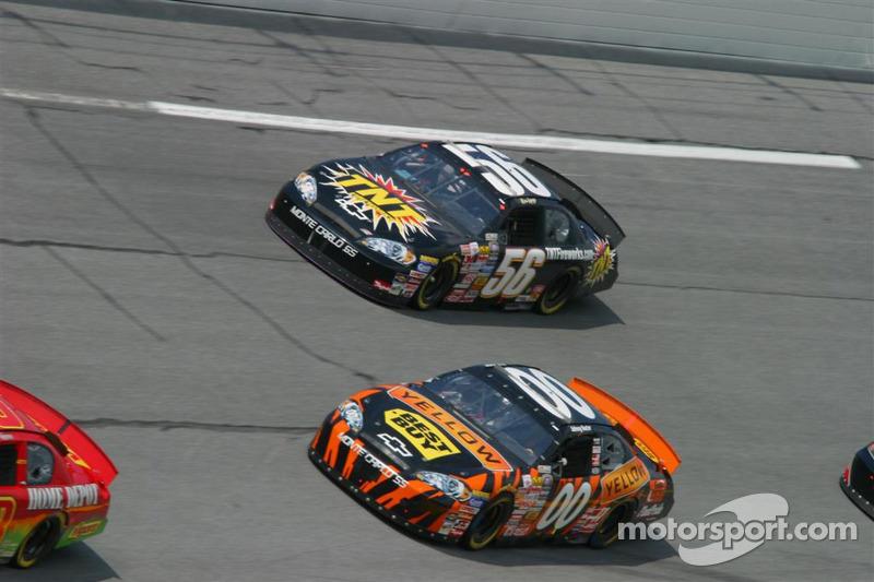 Johnny Sauter et Kevin Lepage
