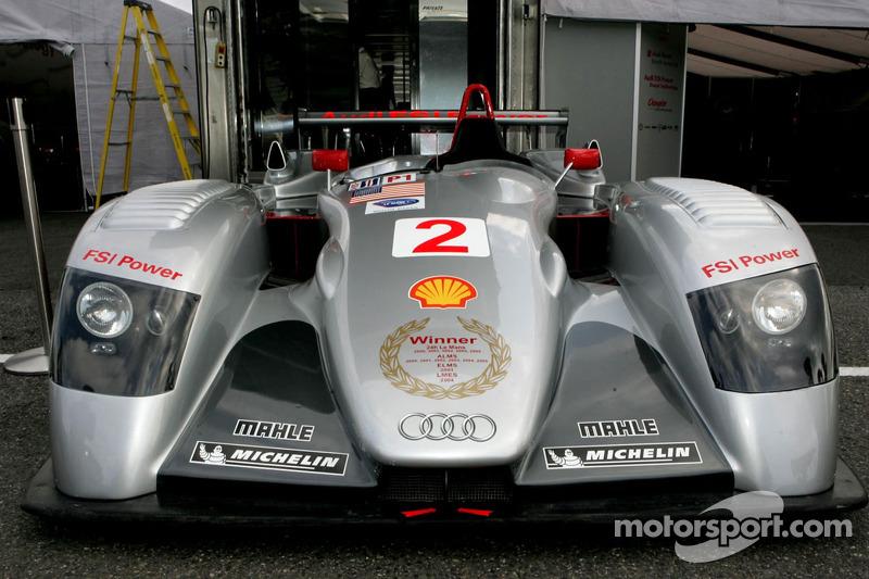 Dernière course pour l'Audi R8