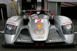Last race for the Audi R8