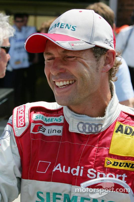 Tom Kristensen heureux avec une nouvelle pole position