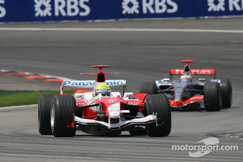 Tour de formation : Ralf Schumacher et Kimi Räikkönen