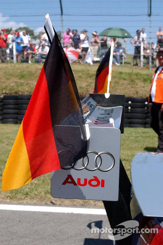 Les voitures Audi sponsorisent l'équipe nationale allemande à la Coupe du monde