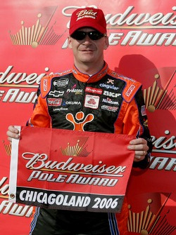 Pole winner Jeff Burton