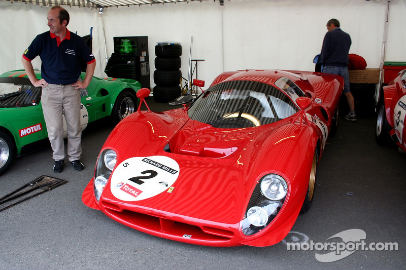 Grille 5 #2 Ferrari P3 1966