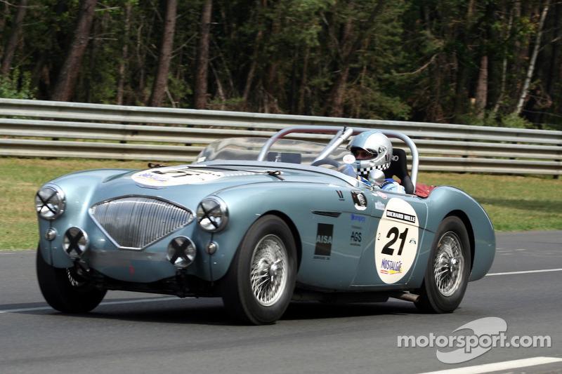 #21 Austin Healey 100 1955