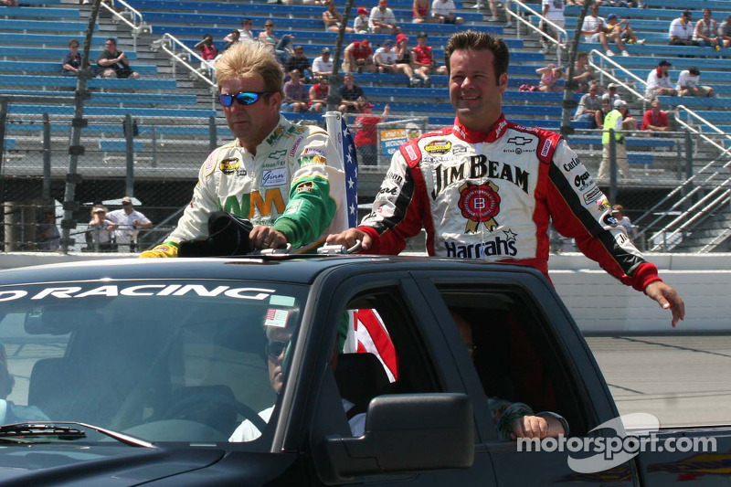 Sterling Marlin et Robby Gordon