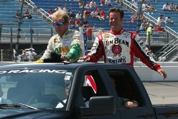 Sterling Marlin and Robby Gordon