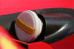 Plug protecting the engine exhausts