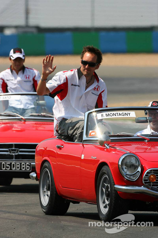 Parade des pilotes : Franck Montagny
