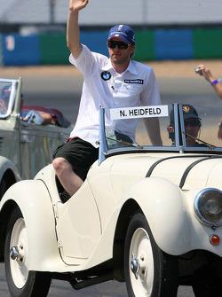 Parade des pilotes : Nick Heidfeld