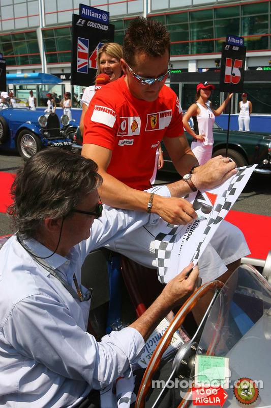 Desfile de pilotos: Michael Schumacher