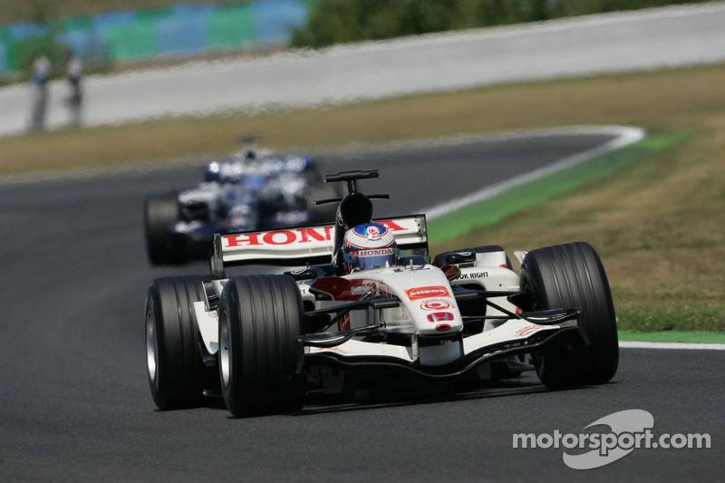 Jenson Button et Nico Rosberg