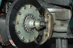 Aston Martin Racing Aston Martin DB9 brake detail