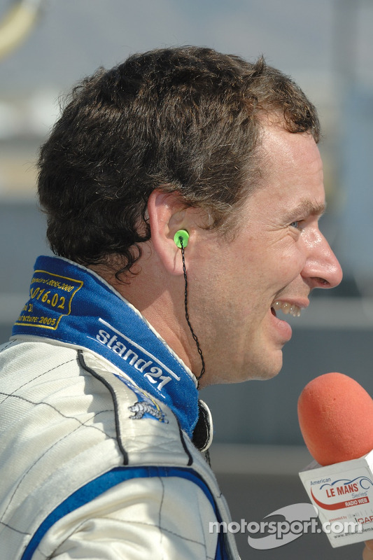 Interview de la post-qualification de Butch Leitzinger pour la Web Radio ALMS
