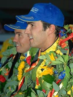 Lucas Luhr and Sascha Maassen celebrate